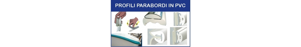 Profili Parabordi in PVC