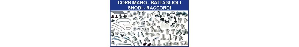 Corrimano - Battagliole - Snodi - Raccordi