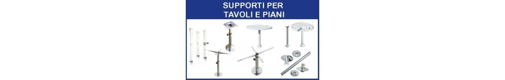 Supporti per Tavoli e Piani