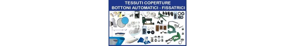 Tessuti Coperture - Bottoni Automatici - Fissatrici