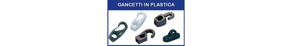 Gancetti in Plastica