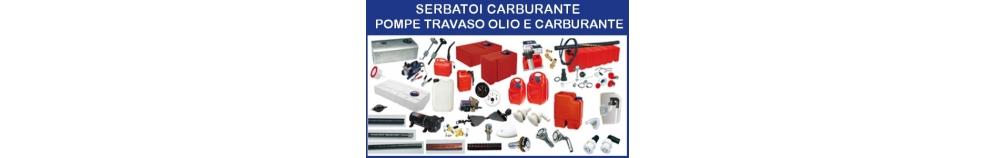 Serbatoi Carburante - Pompe Travaso Olio e Carburante