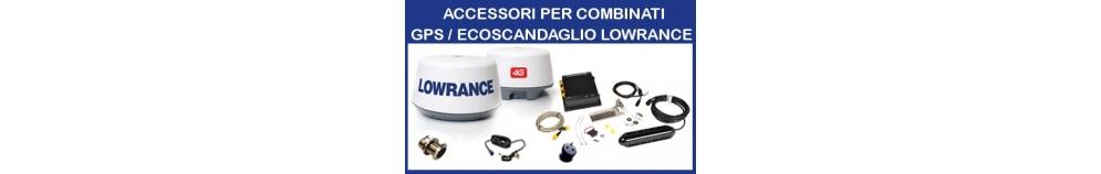 Accessori per Combinati GPS/Ecoscandaglio Lowrance
