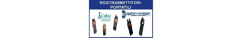 Ricetrasmettitori VHF Portatili