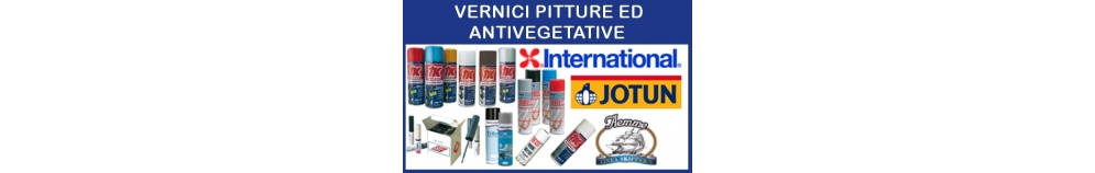 Vernici Pitture ed Antivegetativi
