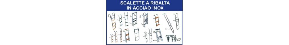 Scalette a Ribalta in Acciaio Inox