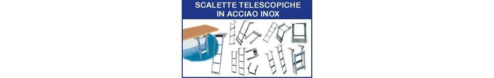 Scalette Telescopiche in Acciaio Inox