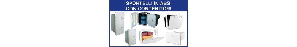 Sportelli in ABS con Contenitori