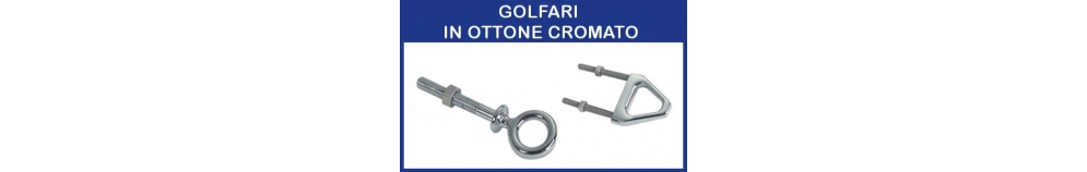 Golfari in Ottone Cromato