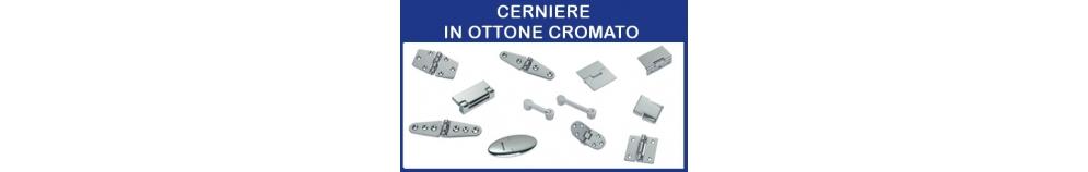 Cerniere in Ottone Cromato