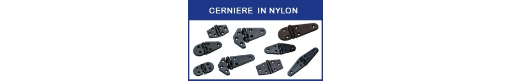 Cerniere in Nylon