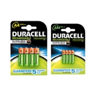 PILE DURACELL RICARICABILI
