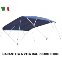 "CAPOTTINA PARASOLE SERIE ""SIXTY"" - ""MADE IN ITALY"""