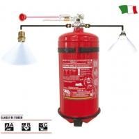 IMPIANTO DI ESTINZIONE FIREKILL A GAS HFC 227